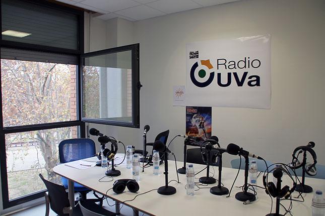 Estudio radio UVa
